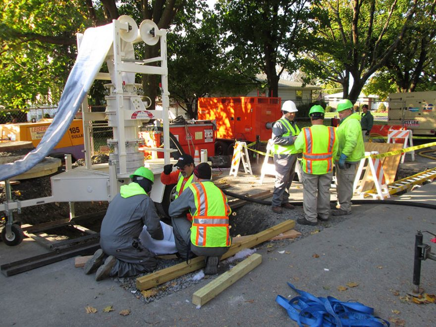 Sinkhole Opens near White House, Causes Major Construction